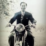 Tran van Khê en 1954, France